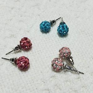 Lot of 3 earrings